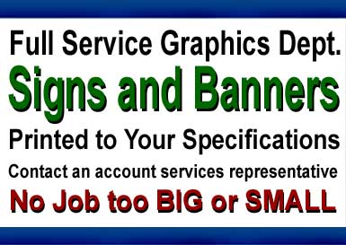 Full Service Sign Shop - Open for Business