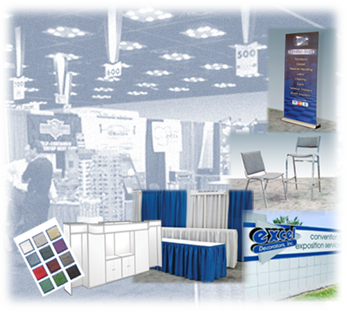 Excel Decorators Online Ordering and Exhibitor Kits